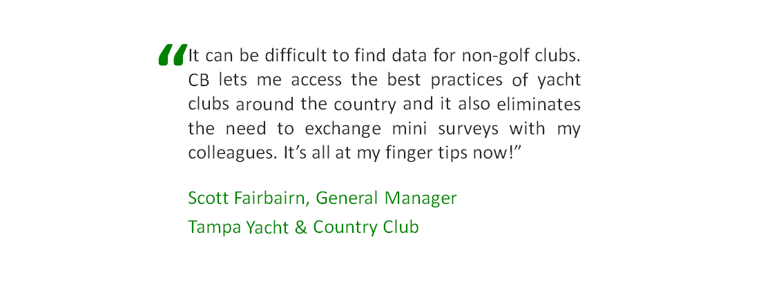 yacht club benchmark